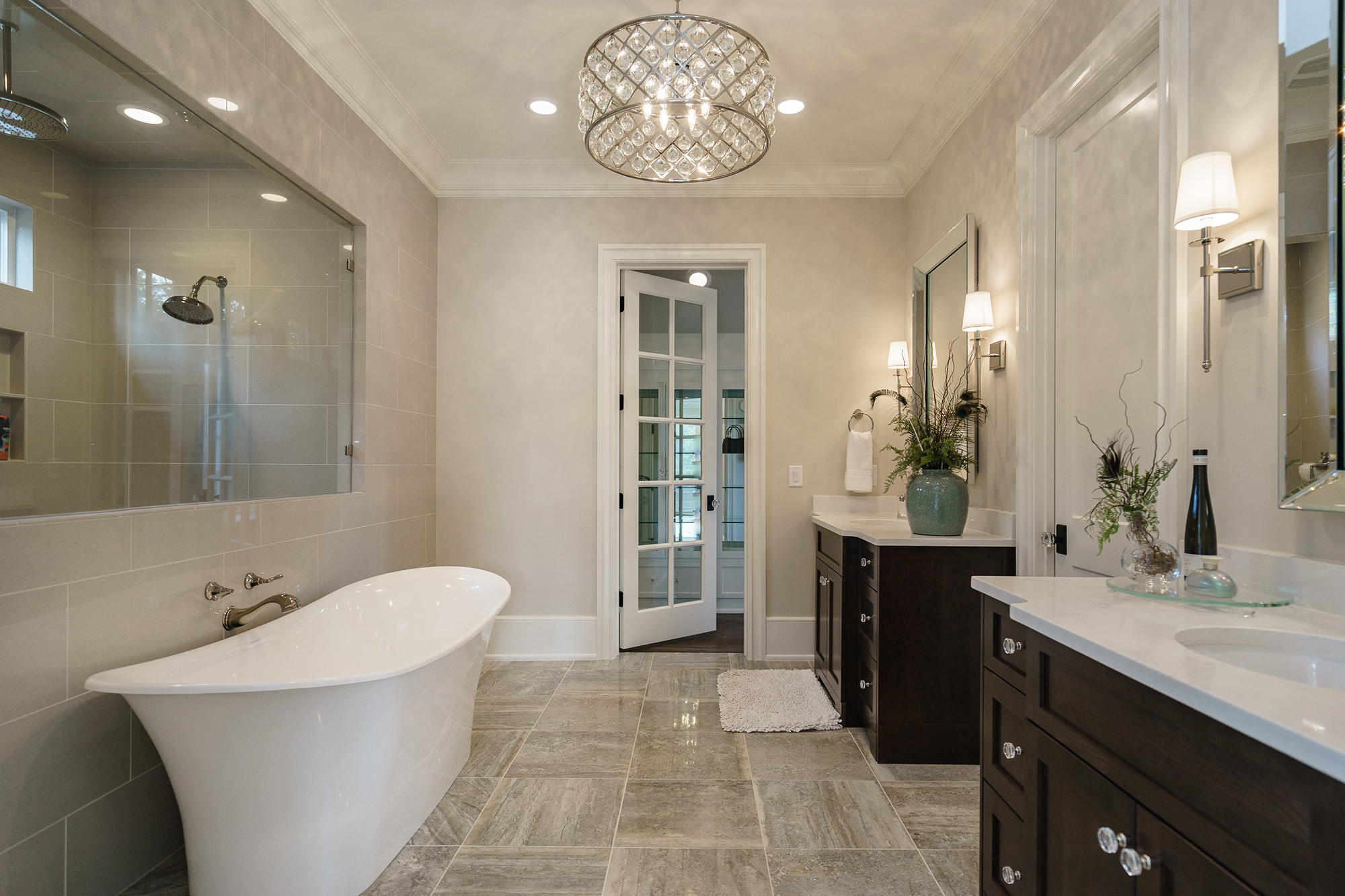 Masterbathroomweb Bella Vista Luxury Development North - Bathroom cabinets raleigh nc